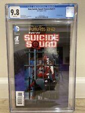 DC Comics ~ NEW SUICIDE SQUAD: Futures End ~ CGC 9.8 3D Cover +3 FREE Books