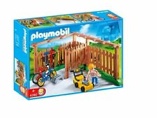 PLAYMOBIL 4280 BACKYARD WITH LAWNMOWER - NEW - SEALED IN BAGS (NO BOX)
