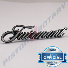 FAIRMONT Glove Box or Pillar Badge ,New for Ford XW XY XR XT 351 Glovebox Piller