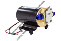 CXRacing Electric Oil Scavenge Pump For Turbo Oil Feed 12VDC 3.7 GPM AN-8