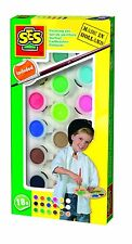 SES Creative Toys - Painting Set - Brush Included - 18 Bright Colours - 00383