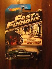 Hot Wheels 2013 Fast and Furious 67 Ford Mustang Offical Movie Merchandise car