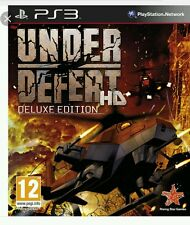UNDER DEFEAT HD DELUXE EDITION FOR SONY PLAYSTATION 3 ( PS3 )  SEALED