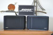 BOSE 301 SERIES IV DIRECT/REFLECTING BOOKSHELF SPEAKERS IN BLACK - EXCELLENT!