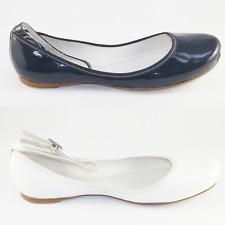 LACOSTE LORNA GLOSS 39-40 NEU 105€ leder ballerina slipper slip on protect spm