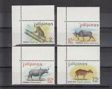 TIMBRE STAMP  4  PHILIPPINES Y&T#711-14 FAUNE ANIMAL NEUF**/MNH-MINT 1968 ~B24