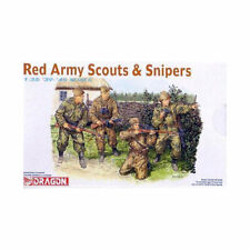 DRAGON 6068 Red Army Scouts and Snipers 1:35 Figures Model Kit