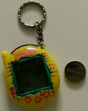 Tamagotchi Connection Bandai China V3 Yellow Used Works Includes New Battery