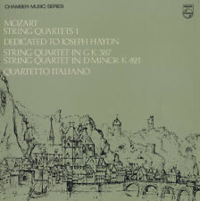 MOZART 6 Haydn SQs QUARTETTO ITALIANO Philips 3LP Set UK Press Red/Silver $4 S&H