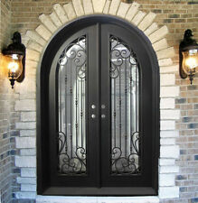 "Custom Wrought Iron Doors 72"" x 96"" by Monarch Custom Doors"