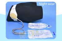 1 ensemble ceinture sac de stomie sac d'urine latérale anti-reflux nuit