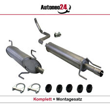 Auspuffanlage OPEL MERIVA A 1.4 16V Twinport/ 1.6 / 1.6 16V /ab.Bj. 2003 Auspuff