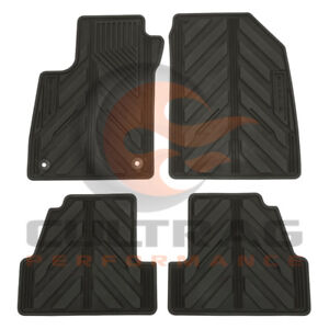 2013-2020 Buick Encore GM Front & Rear All Weather Floor Mats Black 42364956