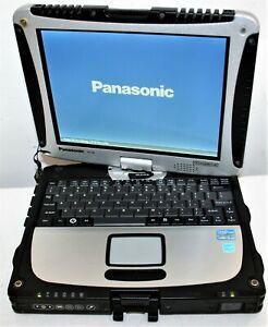 "10.1"" Panasonic Toughbook CF-19 Core i5 2nd 6GB 180GB SSD WiFi BT Touch MK5 10hr"