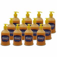 Rabbit Heavy Duty Hand Cleaner Soap [Micro-scrubbers]Grease,ink,carbon etc 12pck