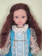 """perruque LONGUE Auburn poupée moderne-tête19/20.5cm-Doll wig supplies sz7/8"""""""