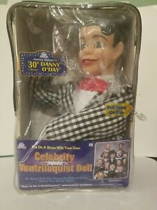 Danny O'Day Dummy Ventriloquist Doll Voice of Nestle Chocolate NEW