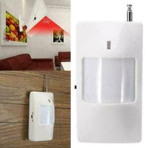 433 MHz Home Wireless PIR Infrared Motion Sensor Detection System for Alarm UK