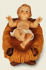 Christmas Baby Jesus in Manger Set Christmas Ornament Traditional Christmas Set