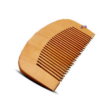 Natural Wood Wooden Hair Mustache Beard Mini Travel Pocket Size Comb Small