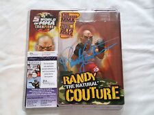 Randy Couture Autographed ROUND 5 FIGURE Signed UFC JSA PSA BELLATOR Toy WOMMA