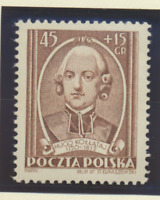 Poland Stamp Scott #B72, Mint Never Hinged