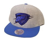 MITCHELL & NESS NOSTALGIC ~ NBA OKLAHOMA CITY THUNDER OKC SNAPBACK  HAT CAP