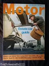 MOTOR MAGAZINE - ESTATE CAR GUIDE - APRIL 12 1969
