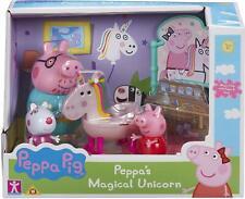Peppa Pig de Peppa Mágico Unicornio Set Figuras Y Accesorios Playset de Juguete