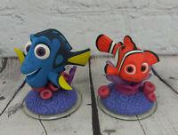 DISNEY INFINITY Pixar Finding Nemo 1.0 2.0 3.0 Dory & Nemo Figure Lot