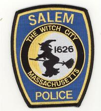 "Massachusetts Salem Police Department Patch Halloween Witch (5"")"