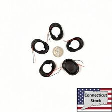 5x 35x25mm Large Oval Speaker 1W 8ohm Wired Laptop Tablet Repair Parts Usa