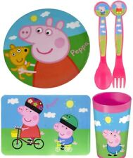 Peppa Pig Complete Dinner Time Set NEW