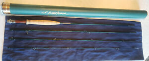 CF Burkheimer 490-4 C Trout Fly Rod - Classic Finish - 9'- 4WT - 4PC - Excellent