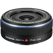 Olympus M.Zuiko Digital 17mm f/2.8 Lens for Micro 4/3 Cameras (Black) 261564