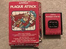 Activision Plaque Attack Game For Atari