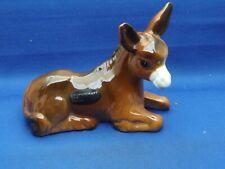 More details for vintage coopercraft donkey ornament 9.5cm