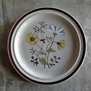 Vintage JI Stonecrest Boho Stoneware Side Plate *Andre Ponche *Forever *Korea