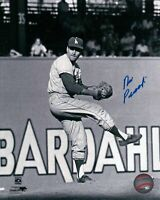 Ron Perranoski Signed 8X10 Vintage Photo Autograph Dodgers B/W Pitching Auto COA