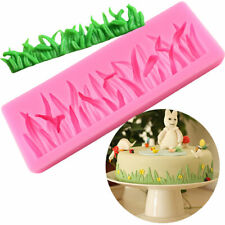 GRASS Silicone Fondant Mold Mould Chocolate Candy Baking Sugarcraft Cake