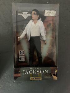 "RARE MICHAEL JACKSON 12"" SINGING DOLL BLACK OR WHITE - Vintage - Read Desc"