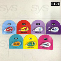 BTS BT21 Official Authentic Goods Character Correction Tape 7SET by Kumhong