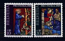 """SWITZERLAND - SVIZZERA - 1969 - """"Pro Patria"""": Arti e Mestieri"""