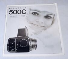 HASSELBLAD 500C Camera Guide Photography Magazine Book Brochure