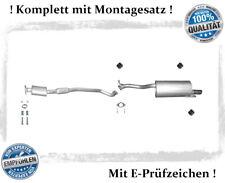Auspuffanlage Subaru Legacy III 2.0 2.5 Bj.98-03 Auspuff Chrom Montagesatz