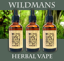 Herbal extract Vape Fluid 30ml Ganja HEMP SATIVA 100% NATURAL