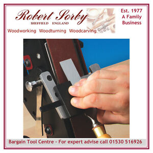 ROBERT SORBY PESQ Woodworking Chisel Jig for Pro Edge sharpening system.