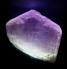 Large natural terminated Kunzite crystal 372 grams, old Afghanistan