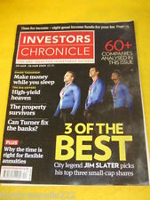 INVESTORS CHRONICLE - MONEY WHILE YOU SLEEP - MARCH 20 2009