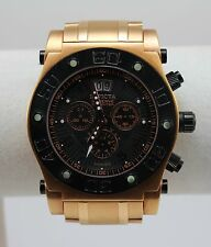 INVICTA MEN'S RESERVE SPEEDWAY SWISS QUARTZ CHRONO WATCH, ROSE GOLD, #4364